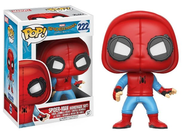 Funko Pop Spider Man Homecoming Spider Homemade Suit 222