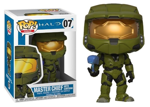Funko Pop Halo Master Chief With Cortana 07