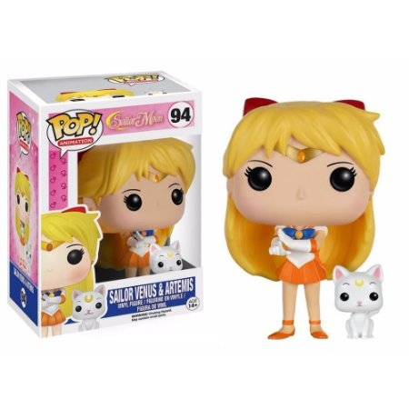 Funko Pop Sailor Moon Venus e Artemis 94