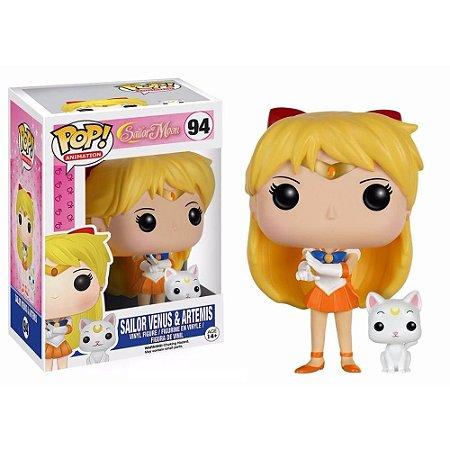 Funko Pop Sailor Moon Venus e Artemis 94