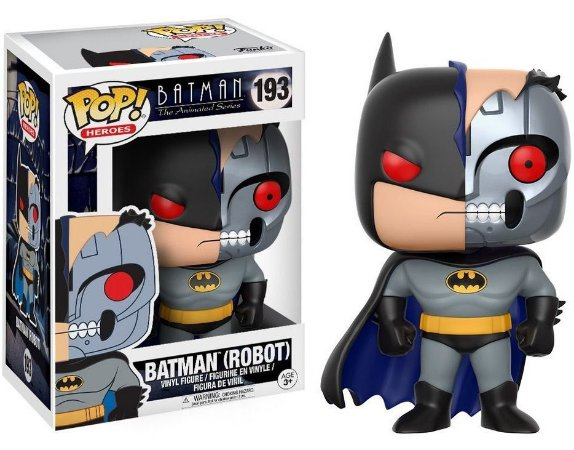Funko Pop Batman Robot 193