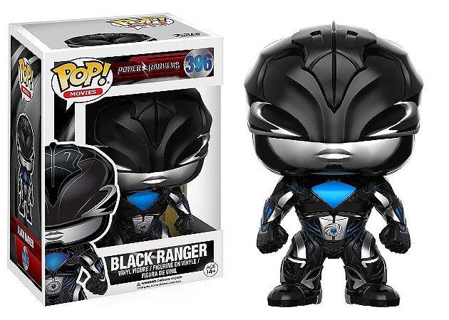 Funko Pop Power Ranger Black Ranger 396
