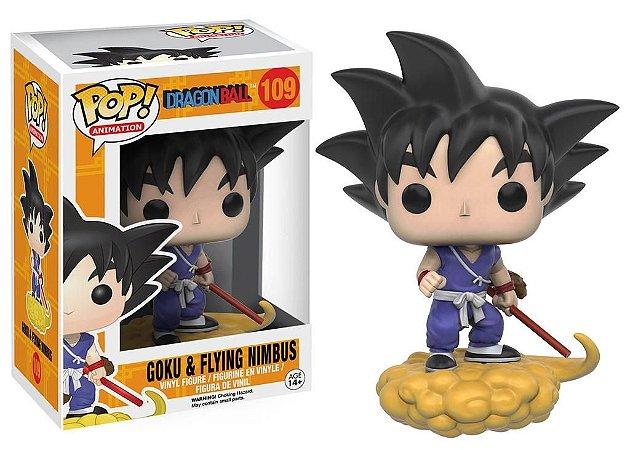 Funko Pop Dragon Ball Goku & Flying Nimbus 109