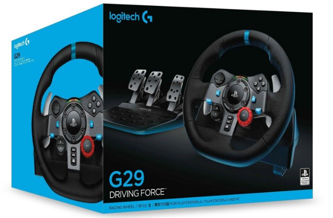 Volante Logitech G29 Driving Force para PS4