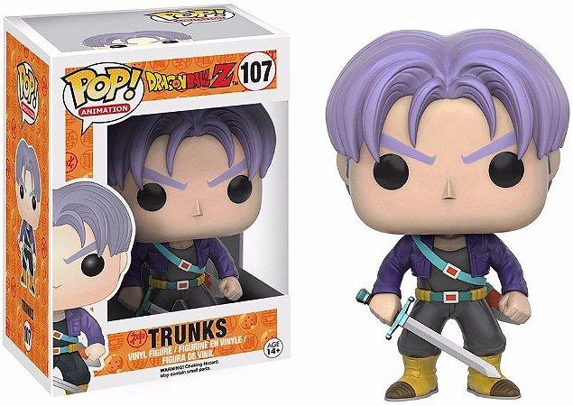 Funko Pop Dragon Ball Z Trunks 107