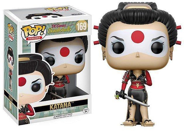 Funko Pop DC Comics Bombshells Katana 169