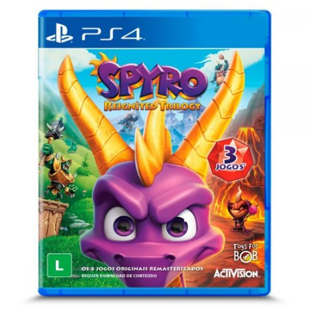 Spyro Reignited Trilogy para PS4
