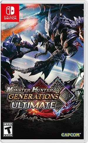 Monster Hunter Gerenations Ultimate para Nintendo Switch