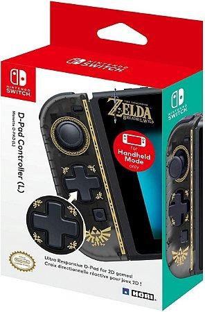 Controle Joy Con lado ESQUERDO HORI Zelda PRETO
