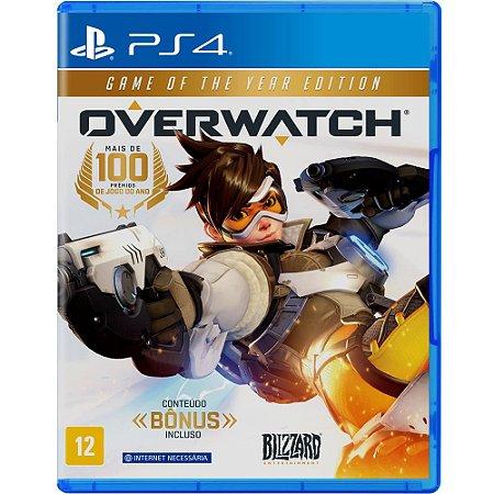 Overwatch para PS4 edição game of the year