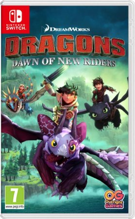 Dreamworks Dragons Dawn of new riders para Nintendo Switch