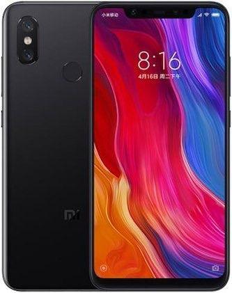 Celular Xiaomi Mi 8 6GB-128GB Preto Global