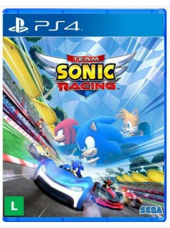 Team Sonic Racing para PS4