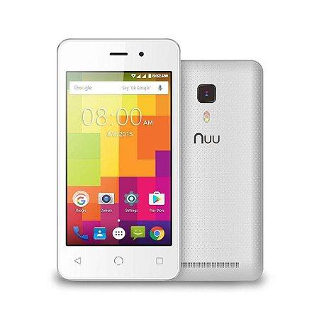 """Celular Nuu A1 4.0"""" 8GB 512MB Ram Dual 3G Diversas Cores"""