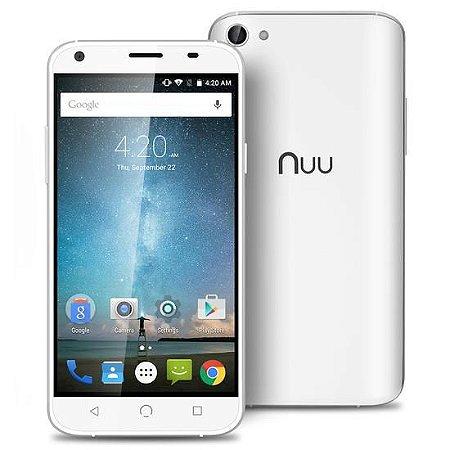 Celular Nuu X4 2gb-16gb Branco Dual Sim