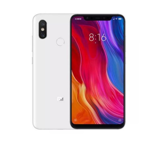 Celular Xiaomi Mi 8 6GB-128GB Branco Global
