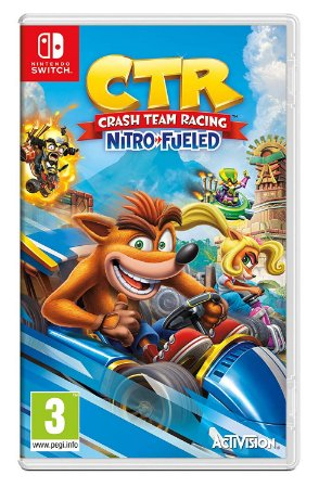 Crash Team Racing Nitro Fueled para Nintendo Switch