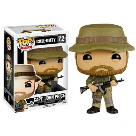 Funko Pop Call Of Duty Capt. John Price 72