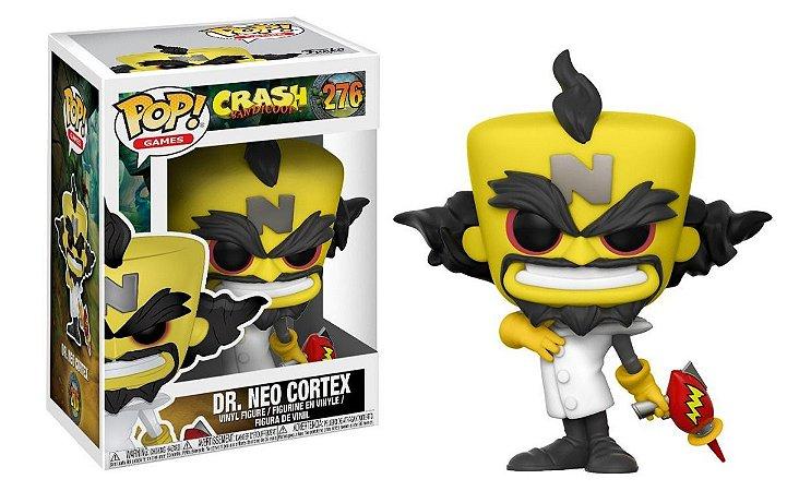 Funko Pop Crash Bandicoot  Dr Neo Cortex 276