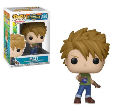 Funko Pop Digimon Matt 430