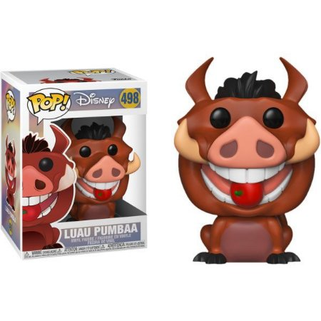 Funko Pop Rei Leão 2 Luau Pumbaa 498