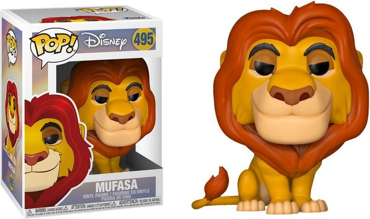 Funko Pop Rei Leão 2 Mufasa 495