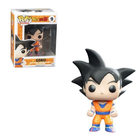 Funko Pop Dragon Ball Goku Cabelo Preto Ex 9