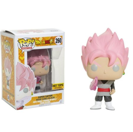 Funko Pop Dragon Ball Goku Black Super Saiyan Rose *atc* 260
