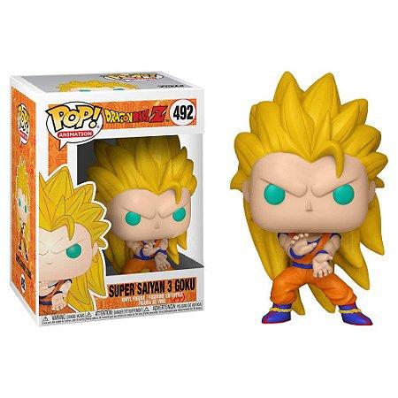Funko Pop Dragon Ball Super Saiyan 3 Goku *ex* *atc* 492
