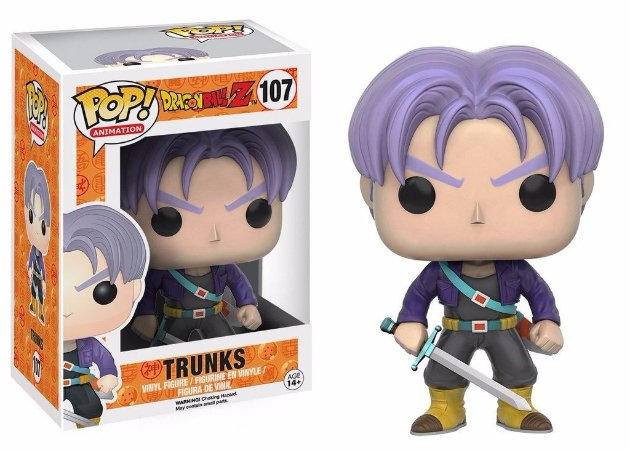 Funko Pop Dragon Ball Trunks 107