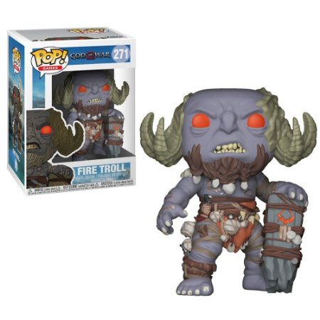 Funko Pop God Of War Fire Troll 271