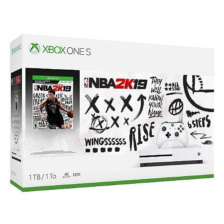 Xbox One S 1tb Bundle Nba 2k19