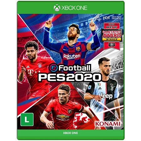Pes 2020 Pro Evolution Soccer 20 - Xbox One PRONTA ENTREGA