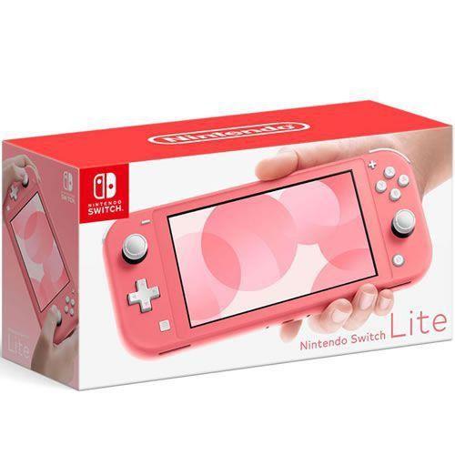 Nintendo Switch Lite As 3 opções de cores