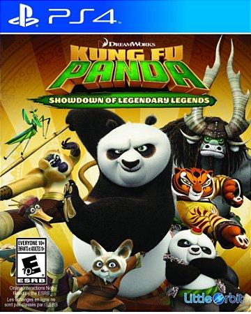 Kung Fu Panda Confronto De Lendas para Ps4