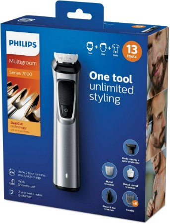 Aparador De Pelos Philips Multigroom Evolution - Mg7715/15