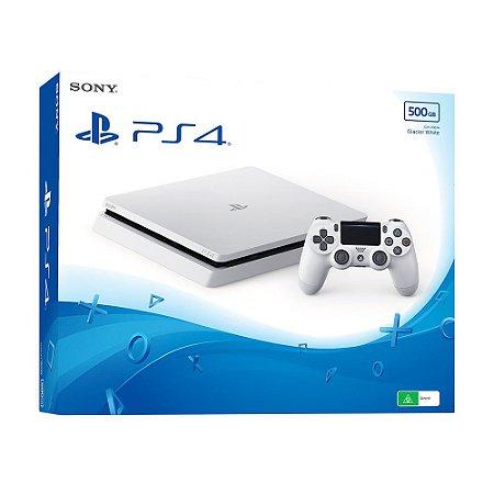 Playstation 4 slim 500GB BRANCO sem jogo