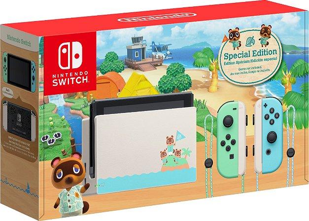 Nintendo Switch Edição Especial Animal Crossing New Horizons