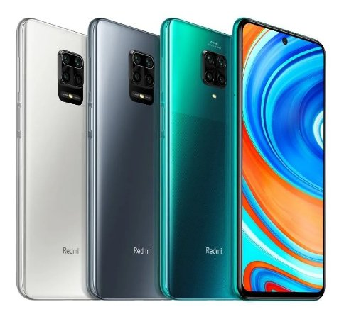 Redmi note 9 PRO 6GB / 128GB - Branco / Grey / Aurora blue