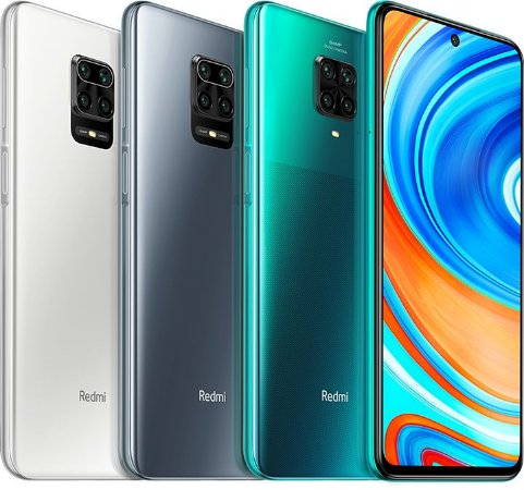 Redmi note 9 PRO 64GB / 6GB - Branco / Grey /  Aurora Blue