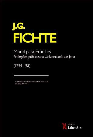 Moral para eruditos: preleções públicas na Universidade de Jena (1975-1795)