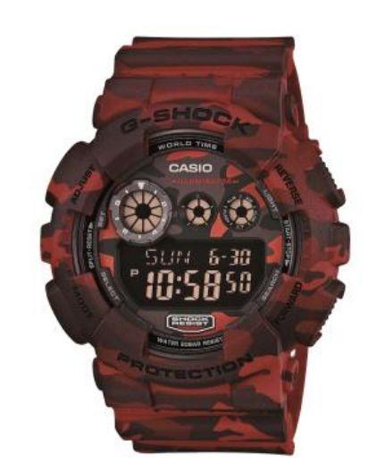 ced579cb4e ATACADO Relógio Casio Masculino Camuflado Verde G-Shock Digital GD-120-CM5