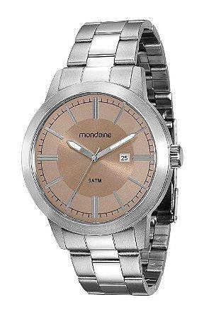 c3fb5df04f2 ATACADO Relógio Masculino Mondaine Analógico Cromado 78698G0MVNA2 ...