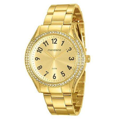 2a2fe689c4b ATACADO Relógio Mondaine Feminino 76561LPMVDE2 Dourado - Atacado ...