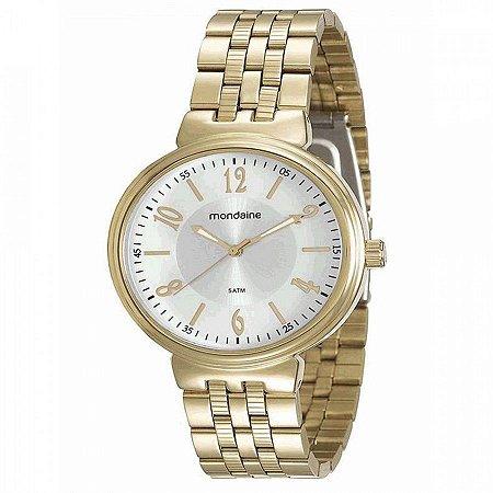 75bac614d42 ATACADO Relógio Feminino Dourado Mondaine Analógico 94972LPMVDE1 ...