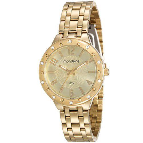 e0c3c2fb48c ATACADO Relógio Mondaine Feminino 94798LPMVDE1 Dourado - Atacado ...