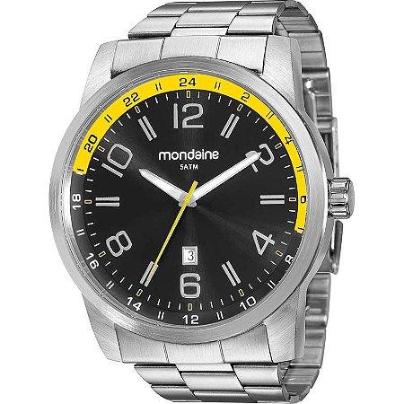 b67c93cdfa1 ATACADO Relógio Masculino Mondaine Prateado Analógico 99049G0MVNA2 ...