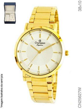4338849a20b Atacado Relógio Champion Feminino Dourado Cn25627w Kit Semi Joia ...