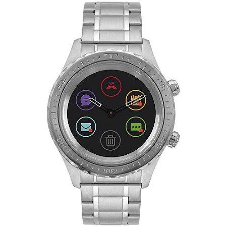 Relógio Technos Masculino Connect Duo Prata preto P01aa 1p - Atacado ... 8167c7284c