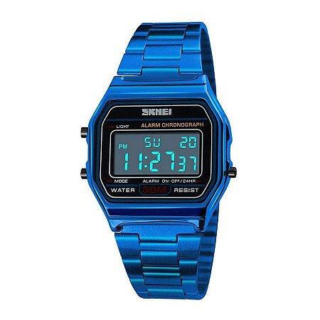 Relogio Unissex Skmei Digital 1123 Azul